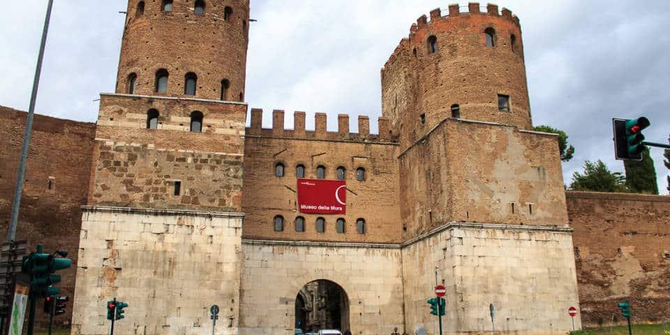 The San Sebastian Gate of the Aurelian Wall
