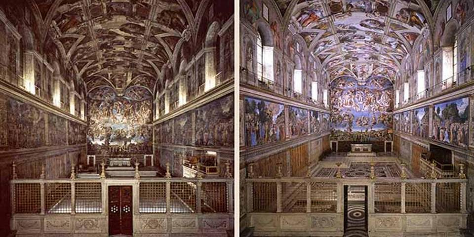 Restoration of the Sistine Chapel