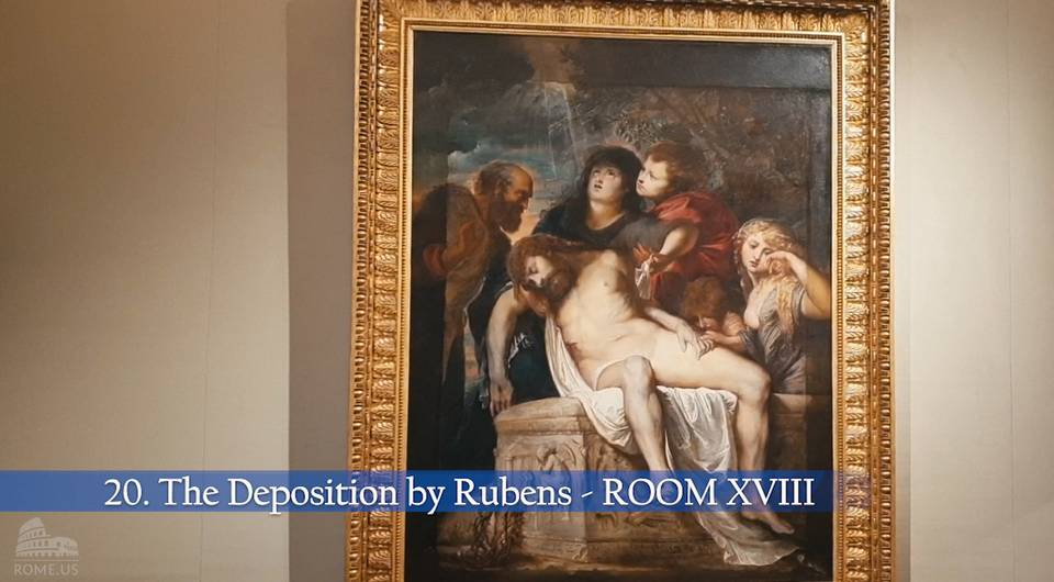 the deposition rubens