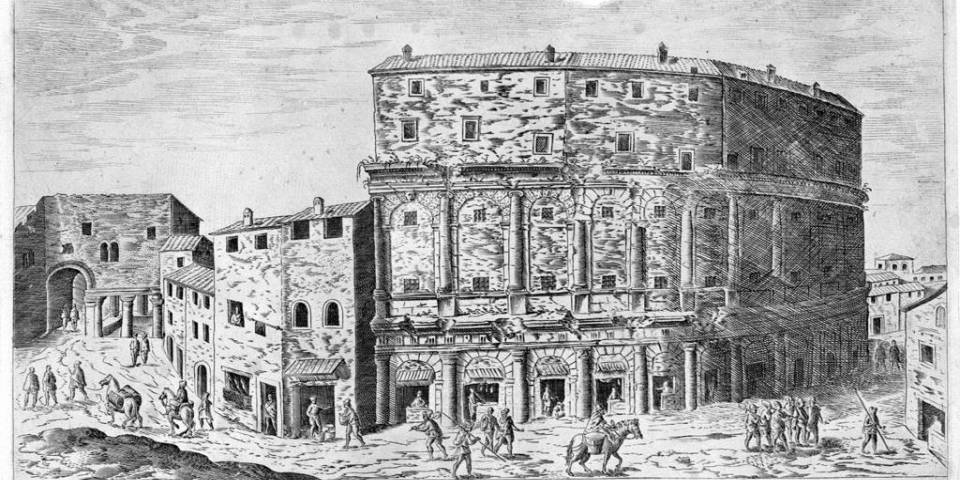 theater of Marcellus ancient times