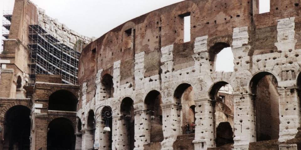 material of colosseum