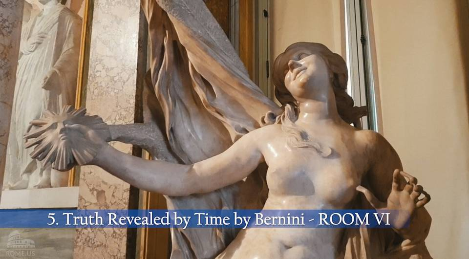 truth revealed by time by Bernini