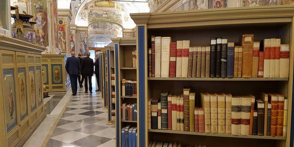The library of Vatican