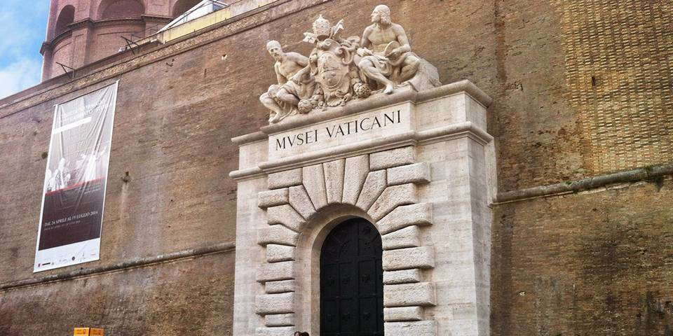 where to enter Vatican Museums in Rome