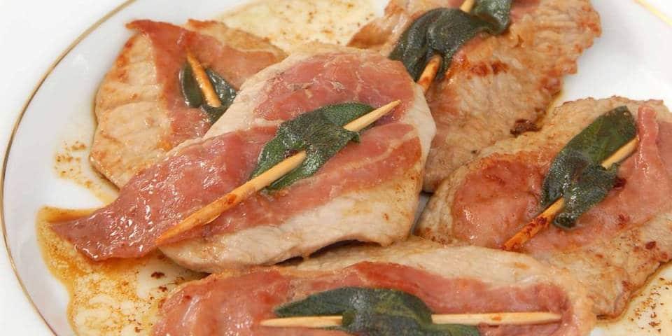 Saltimbocca Roman dish