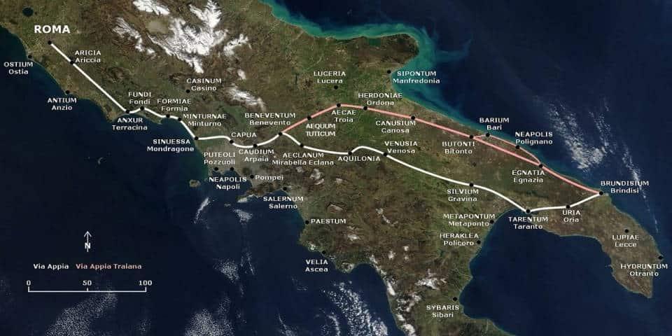 Via Appian Antica in Rome