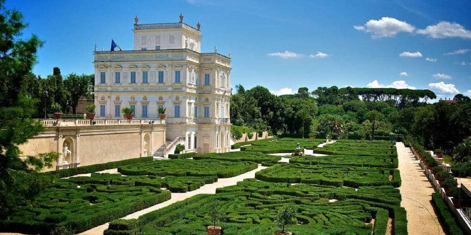 Villa Pamphili in Rome