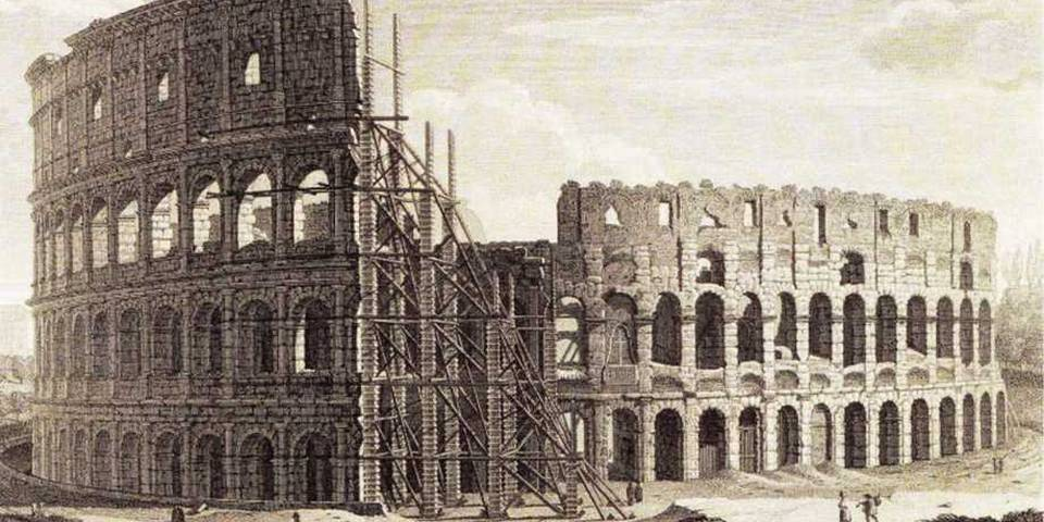 who created the colosseum