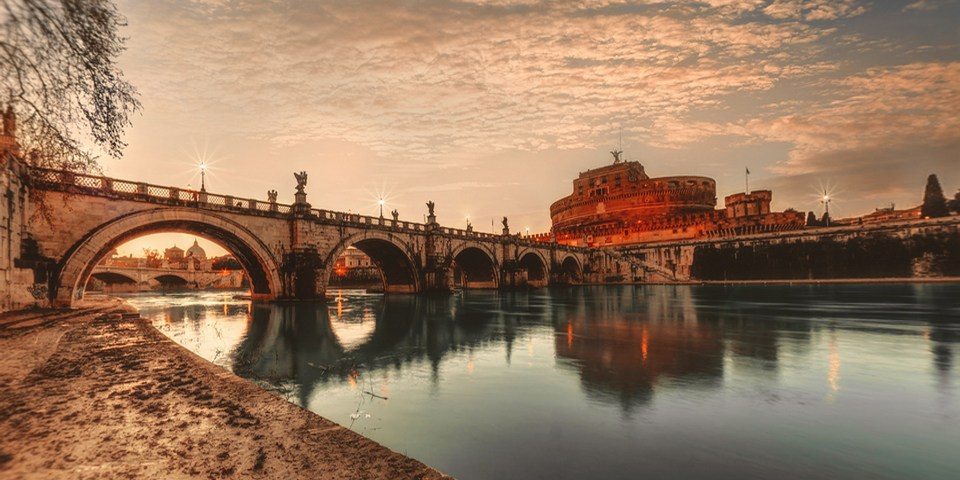 Ponte district in Rome