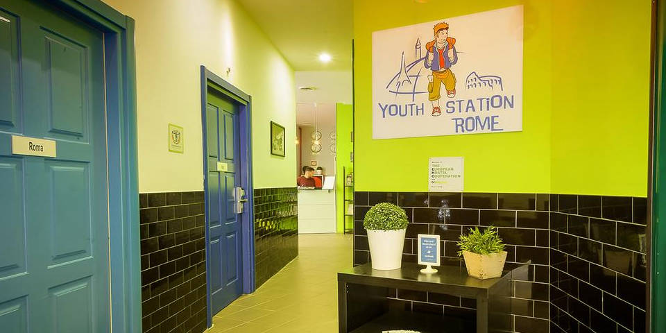 Youth Station hostel in Rome